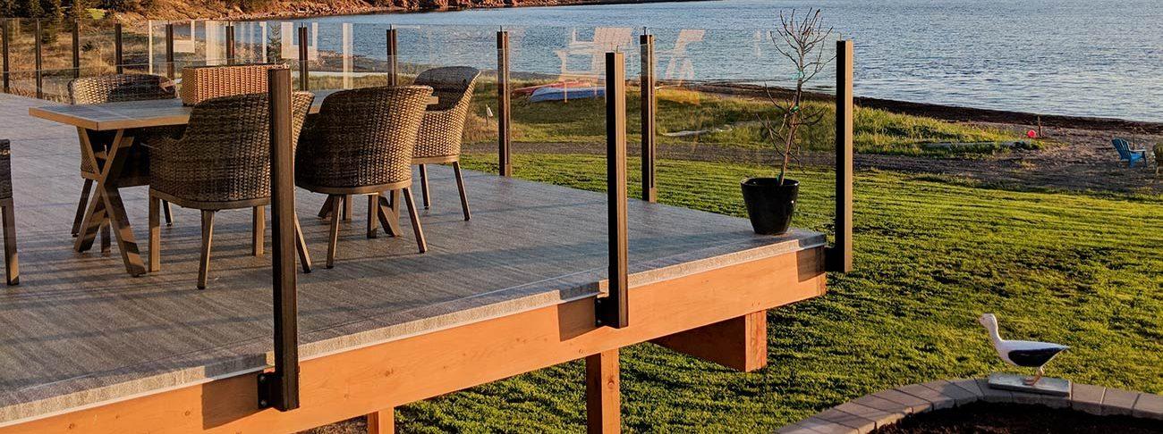 Duradek Driftwood - Lakeview Deck & Rail