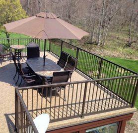 Duradek sundeck and patio - ready to entertain